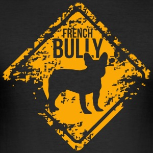 French Bully - Men's Slim Fit T-Shirt