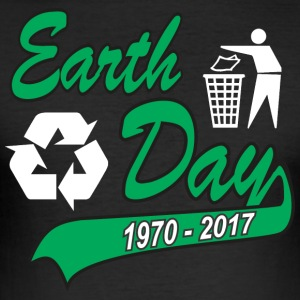 Earth Day 2017 - Men's Slim Fit T-Shirt