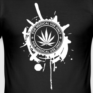 GANJA MEDICAL - Männer Slim Fit T-Shirt