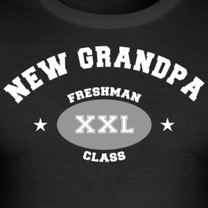 New Grandpa Personalize with Date or Name - Men's Slim Fit T-Shirt
