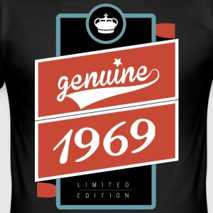 Genuine 1969 limited edition - Men's Slim Fit T-Shirt