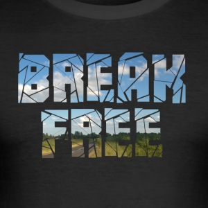 break free3 - slim fit T-shirt