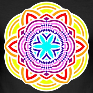 mandala - Slim Fit T-shirt herr
