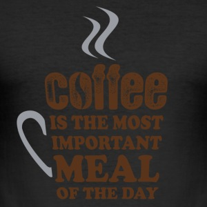 Coffee Lovers - Tee shirt près du corps Homme