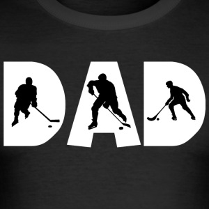 Hockey Dad - Tee shirt près du corps Homme