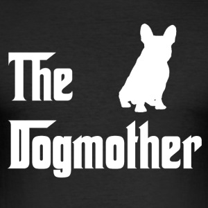 Dogmother_weiss - slim fit T-shirt