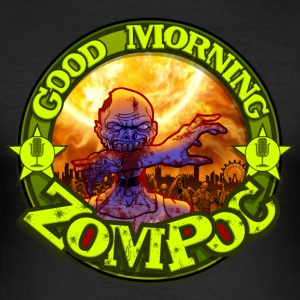 Good Morning Zompoc Podcast - Herre Slim Fit T-Shirt