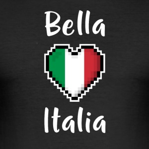 Bella Italia - Men's Slim Fit T-Shirt