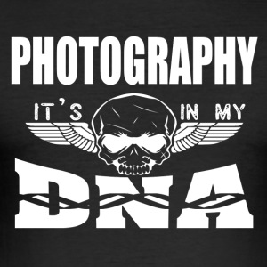 PHOTOGRAPHY - It's in my DNA - Men's Slim Fit T-Shirt