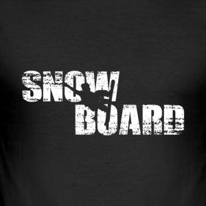 Snowboard - Snowboard - Slim Fit T-skjorte for menn