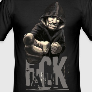 F * CK ALL - Men's Slim Fit T-Shirt