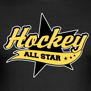 Hockey All Star - Männer Slim Fit T-Shirt