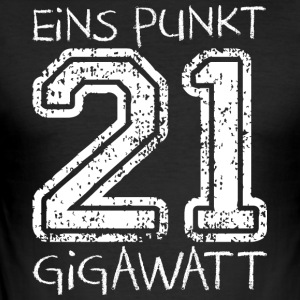 1.21 Gigawatt - Männer Slim Fit T-Shirt