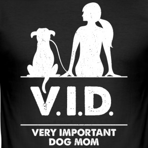Very important Dog Mon - Männer Slim Fit T-Shirt