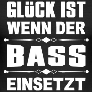 When the Beat Drops^ - Männer Slim Fit T-Shirt
