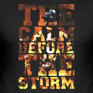 Brandweerlieden De stilte voor de storm Fire Edition - slim fit T-shirt