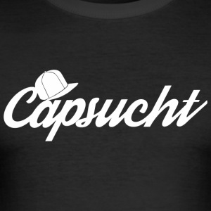 capsucht logo - Slim Fit T-skjorte for menn