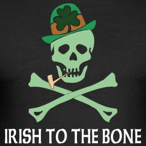 Irish To The Bone - Maglietta aderente da uomo