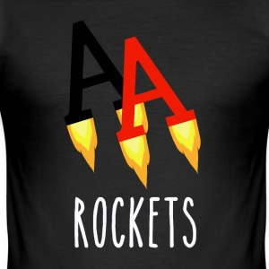 Poker Rockets - Slim Fit T-shirt herr