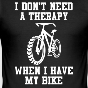 I love my bike - Men's Slim Fit T-Shirt