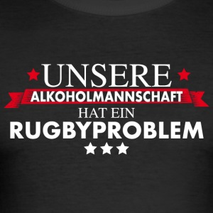 Rugby Teamshirt - Rugbysport - Männer Slim Fit T-Shirt