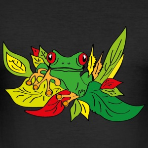 Frog - Männer Slim Fit T-Shirt