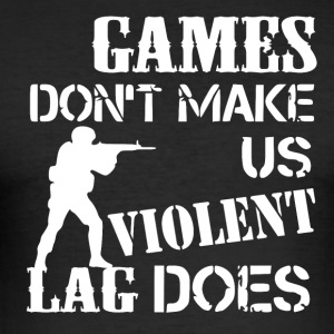 Games en Lag - slim fit T-shirt