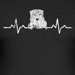 A heart for Stafford terrier - Men's Slim Fit T-Shirt