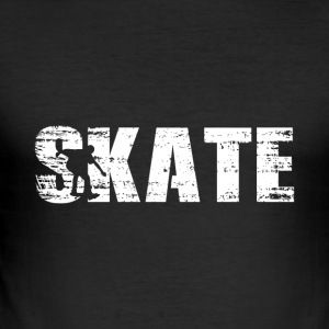 Skate - Skateboard - Männer Slim Fit T-Shirt