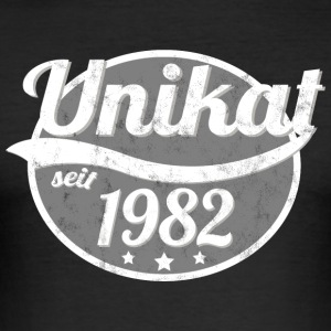 1982 Unikat - Männer Slim Fit T-Shirt