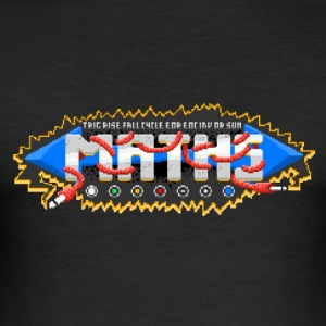 PM'd för Maths #TTNM - Slim Fit T-shirt herr