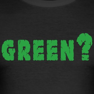 Earth Day Green - Men's Slim Fit T-Shirt