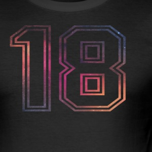 18er birthday - Men's Slim Fit T-Shirt