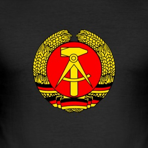 ddr Symbol voormalige ironie sed Republiek Muur German - slim fit T-shirt