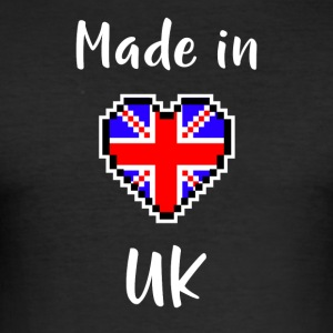 Made in UK - Herre Slim Fit T-Shirt