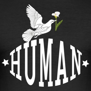 human Dove - Slim Fit T-shirt herr