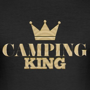 Outdoor · Camping · Campingking - Männer Slim Fit T-Shirt