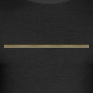 Trennlinie · Headers · Frames - Männer Slim Fit T-Shirt