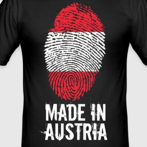 Made In Österrike / Österrike - Slim Fit T-shirt herr