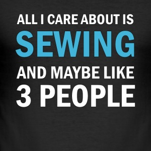 All I Care About ice Sewing - slim fit T-shirt