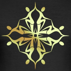 Mandala 5-1 - Slim Fit T-skjorte for menn