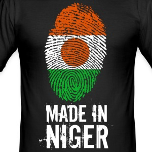 Made In Niger - Männer Slim Fit T-Shirt