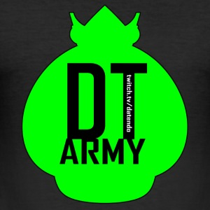 DT ARMY GREEN - Männer Slim Fit T-Shirt