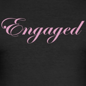 Engaged - Men's Slim Fit T-Shirt