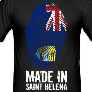 Made In Saint Helena / St. Helena - Men's Slim Fit T-Shirt