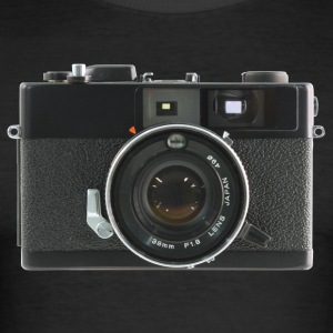 Vintage Camera Auto S3 - slim fit T-shirt
