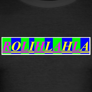 Rolihlahla - Men's Slim Fit T-Shirt