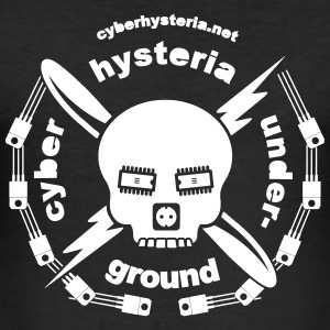 cyberhysteria - Slim Fit T-skjorte for menn