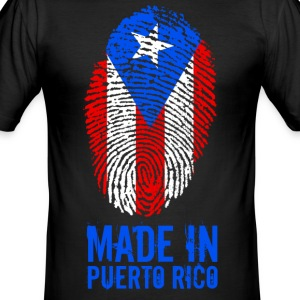 Made In Puerto Rico - slim fit T-shirt