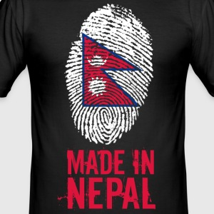 Made In Nepal / नेपाल - Men's Slim Fit T-Shirt